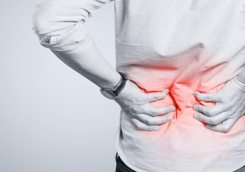 Rwa kulszowa - ból pleców